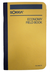 Sokkia Economy Field Book, 8x4 Grid