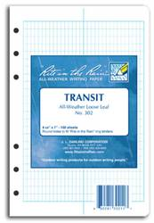Rite-in-the-Rain Loose Leaf Pages, Transit