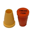 "3/4"" S Series Plastic Caps (for pipe & rebar)"